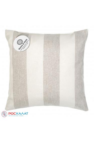 Декоративная подушка Зебра-экрю