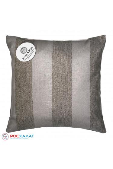 Декоративная подушка Зебра-шоколад