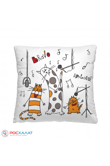Декоративная подушка Весёлые коты