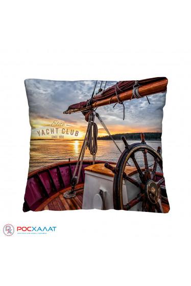 Декоративная подушка Яхта