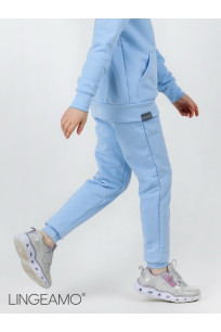 Детские брюки из футера