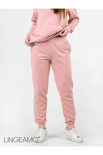 Женские брюки из футера