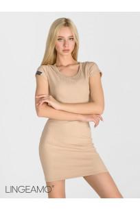 Трикотажное женское платье