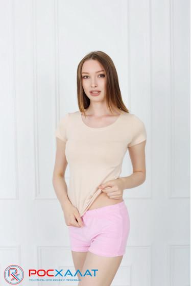 Велюровые женские шорты