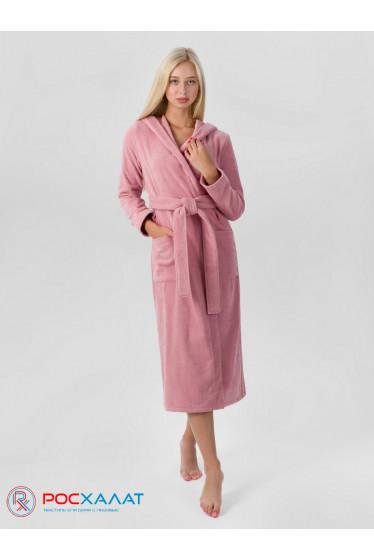 Женский халат с капюшоном
